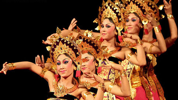 dancing bali